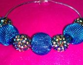 20% OFF  Silver Aqua Blue/Multi Colored Basketball Wives Earrings