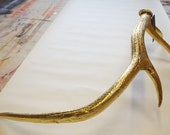 Custom listing for Leah Goodnight - 6 x gold antlers