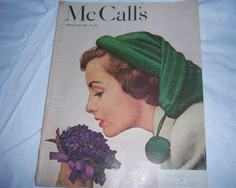 Vintage McCall's Magazine--1940s--Excellent Condition