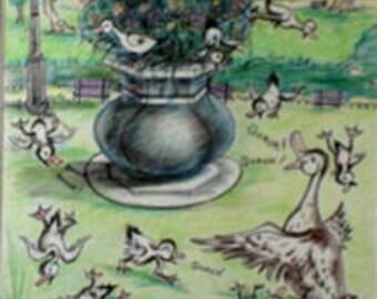 Paris Book original Illustrations