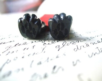 Black wolf legs bookmark. Wolf paws in the book. Little Red riding hood. Bad wolf. gift for kids, child, for him, for her. Funny gift, cute