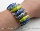 paper bead bracelet--back cove