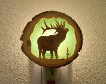 Bull Elk nightlight
