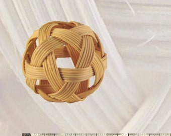 Lichen ball basket ball 8 cm