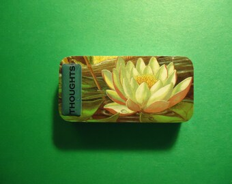 Thoughtful lotus domino magnet
