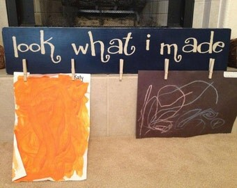 Look What I Made - Child's artwork gallery