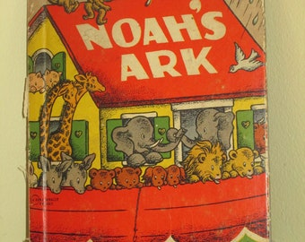 Noah's Ark Rand McNally Book 1944