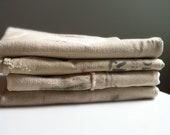 Lot of 4 vintage grain sacks / feed bags