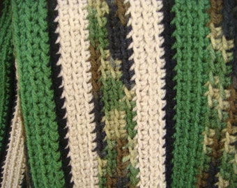 Hunter's Delight Camouflage Afghan