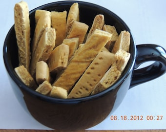 Pumpkin Biscotti Dog Treats