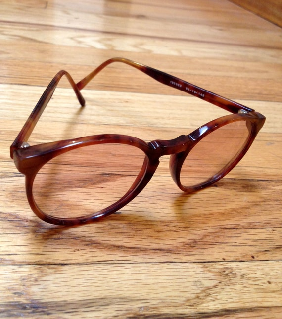 SALE Round Turtle Shell Librarian Glasses