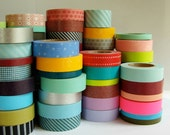 5 Various Japenese Washi Tapes of Our Choosing