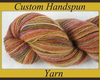 Custom Handspinning Services ... Yarn Spun-To-Order ... Custom Handspun Yarn
