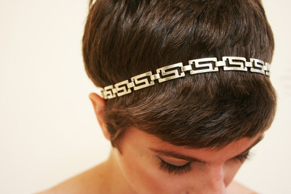 Grace - Gorgeous Goddess Vintage Chain Headband