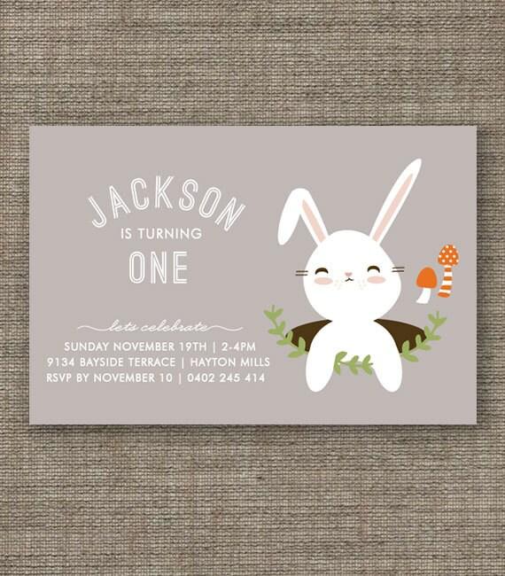 Rabbit Invitations as perfect invitation ideas