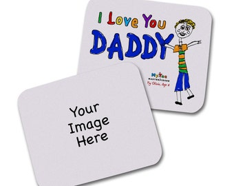 Personalized Art Mouse Pads