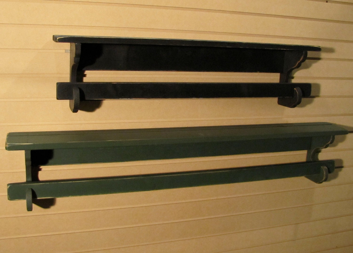 Primitive Quilt Rack 42 Long Rustic Country Style