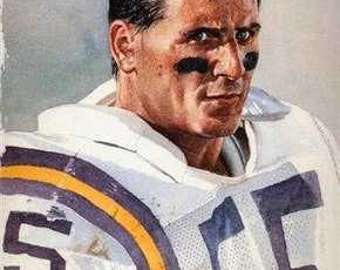 Scott Studwell Minnesota Vikings Rare Art