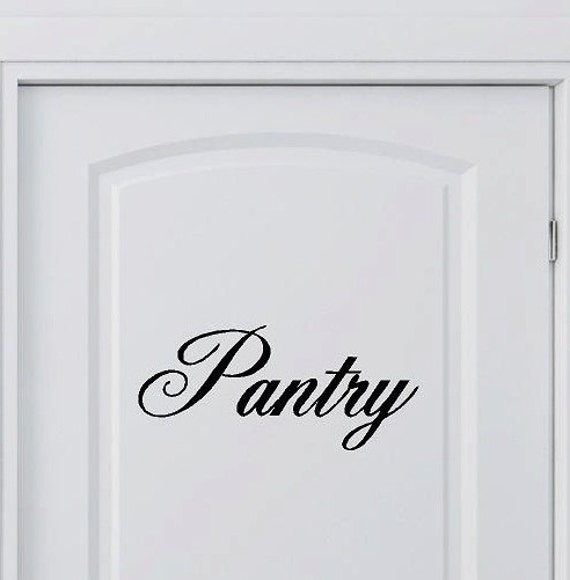 Kitchen Wall Sayings Vinyl Lettering: Pantry Vinyl Lettering Words Kitchen Wall Quotes Graphics