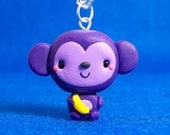 Kawaii Monkey Necklace