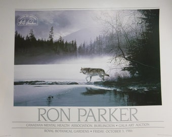 Ron Parker Print - Spring Mist Gray Wolf