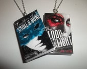 Daughter of Smoke and Bone, Days of Blood and Starlight Miniature Book Necklace