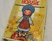 Vintage Holly Hobbie Colorforms Dress Up Set