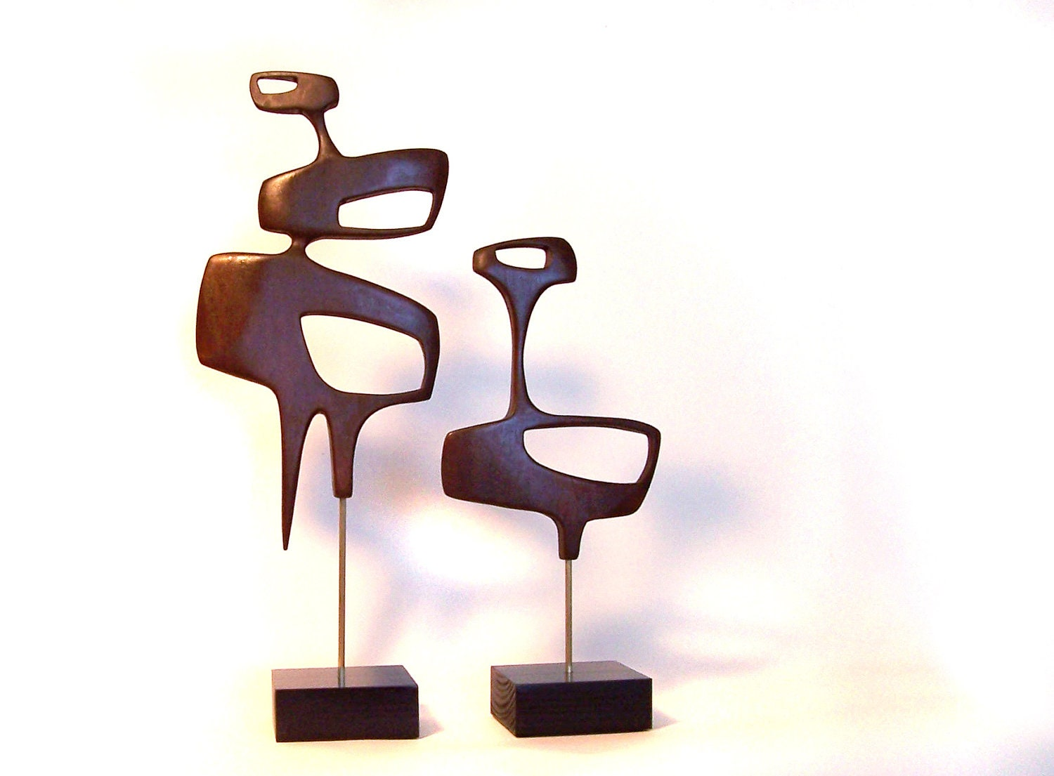 Mid century modern art sculpture eames era by for Mid modern period
