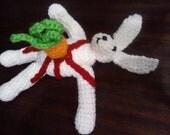 Creepy Crochet:  Bunny Impaled by Carrot