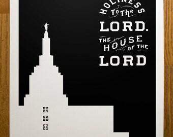 Idaho Falls Temple Print
