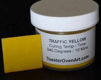 Traffic Yellow Powder Coating