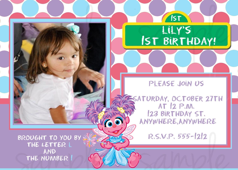 Rapunzel Birthday Invitations – Abby Cadabby Birthday Invitations