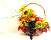 Bountiful Thanksgiving Fall Basket