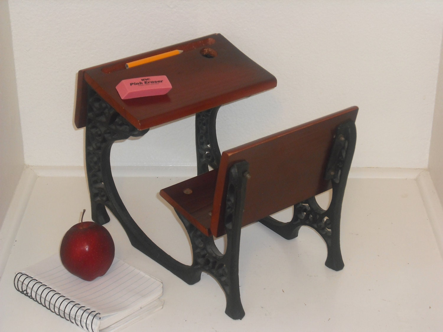 Amazing photo of Vintage American Girl Doll School Desk by KingSolomonsDustys with #B76414 color and 1500x1125 pixels