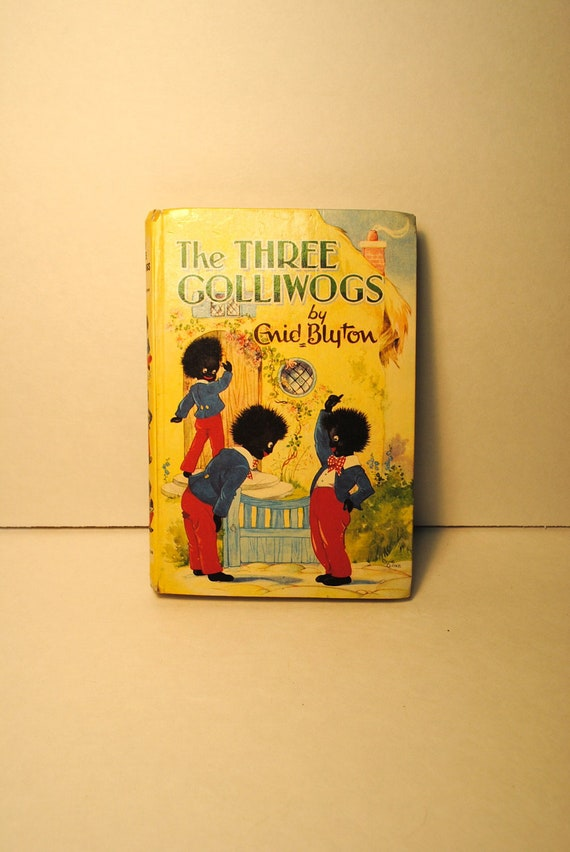 Blyton Golliwogs The Three Golliwogs By Enid Blyton 1969  ........................... book inventory no. 106