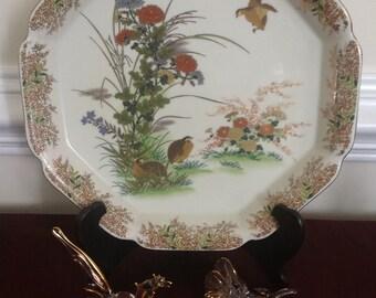 Otagiri Decorative Quail Plate