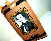 Antique Smash Book Journal Junk Diary Edgar Allan Poe Victorian Cottage Chic