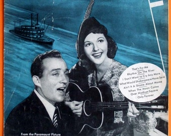 Vintage 1940 - Thats For Me - Sheet Music - Bing Crosby - Mary Martin