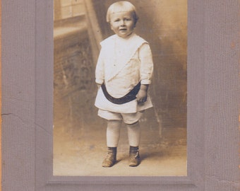 Old Early 1900's Victorian Photograph of Girl Child