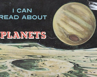 I Can Read About the Planets - 1983 Children's Paperback Book