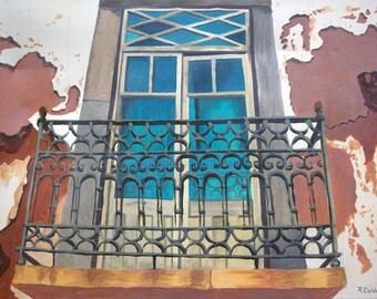 Window in Portugal - fine art print
