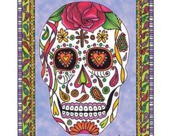 Sugar Skull, Dios de los Muertos Number 2