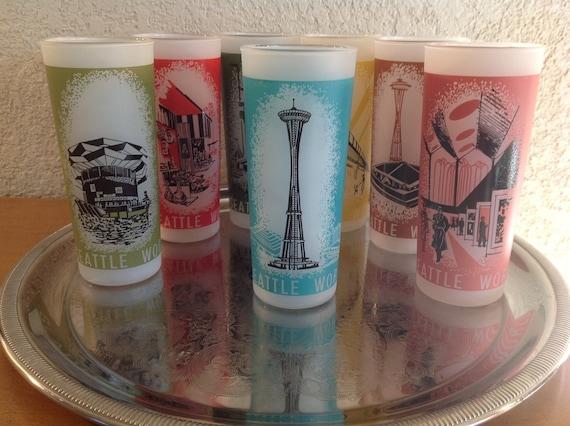 Vintage Eyeglass Frames Seattle : Vintage Seattle Worlds Fair glasses circa 1962. Choose