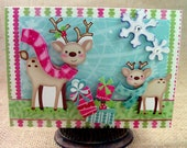 Christmas Card - Handmade Greeting Card