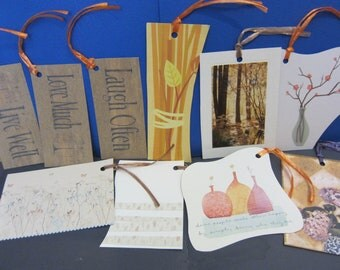 AUTUMN 10-pack Upcycled Gift Tags