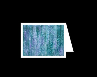 Greeting Card - Rain Forest