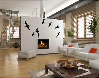 Seagull vinyl wall decal