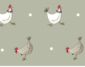 Multi Chicken and spot wrapping paper