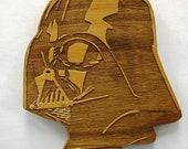 Star Wars Classic Darth Vader Wooden Fridge Magnet