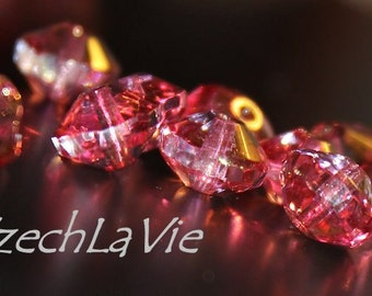 NEW Czech Saucer Pink (024-6)